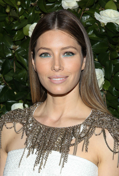 Jessica Biel's Peep of Sea Foam