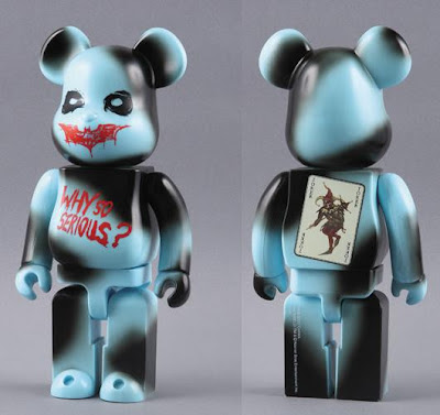 The Dark Knight x Medicom - 400% Why So Serious? Be@rbrick