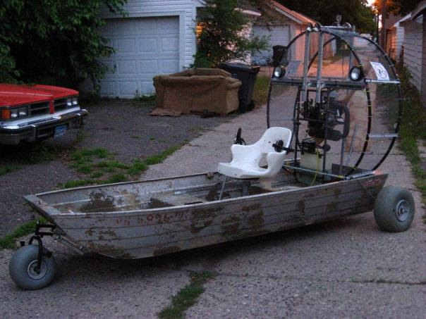 Build Your Own Airboat Diy Boat Plans