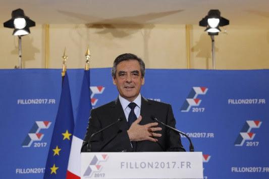 Πήρε το χρίσμα για τις προεδρικές ο Φιγιόν με σχεδόν 70%