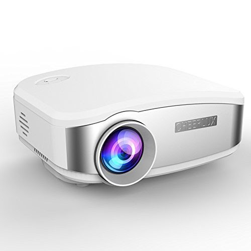 Apple tv cheerlux c6 hd mini portable led projector for for Best portable projector for iphone