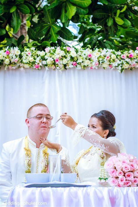 Traditional Thai Marriage Buddhist Wedding Ceremony