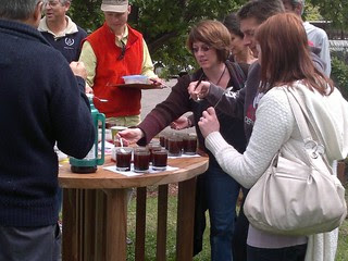 Cupping at Quaffee