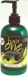 Hair One Hair Cleanser And Conditioner For Dry Hair With Olive Oil 12 oz.