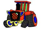 Traktör Boyama Oyunları Oyna