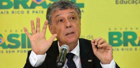 Chico Soares, presidente do Inep, em coletiva realizada nesta quarta em Brasília / Divulgação