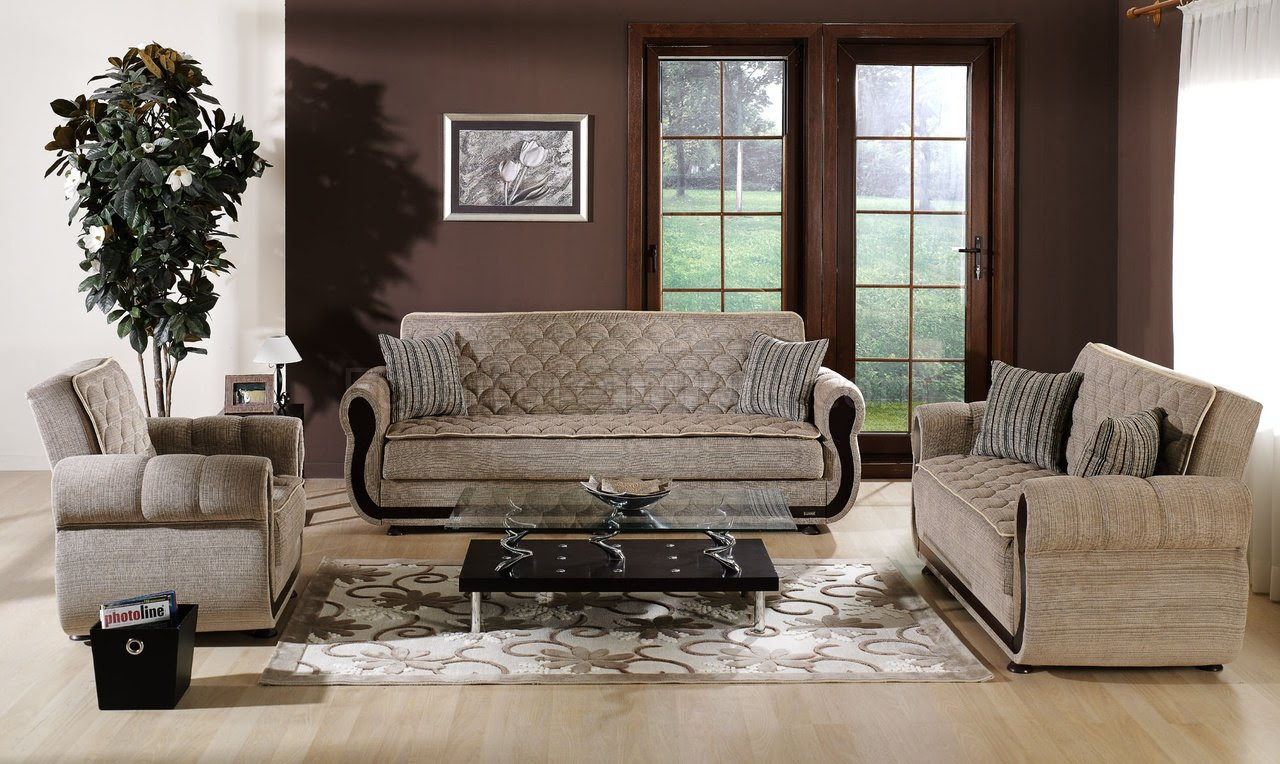 ARGOS Zilkade Storage Sleeper Sofa in Brown by Istikbal