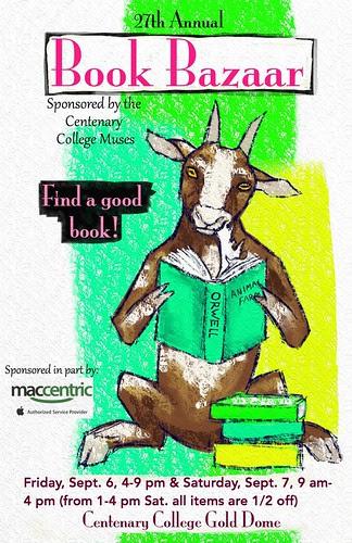 Centenary Book Bazaar Fri, Sat, Sept 6, 7 by trudeau