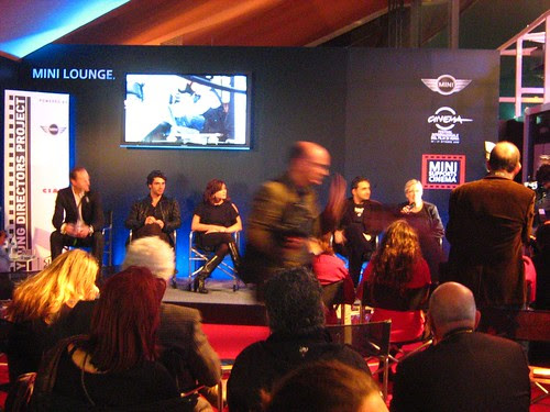 Luca Argentero, Valentina Lodovini and others talking at International Rome Film Fest