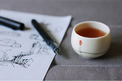 Sketch and tea