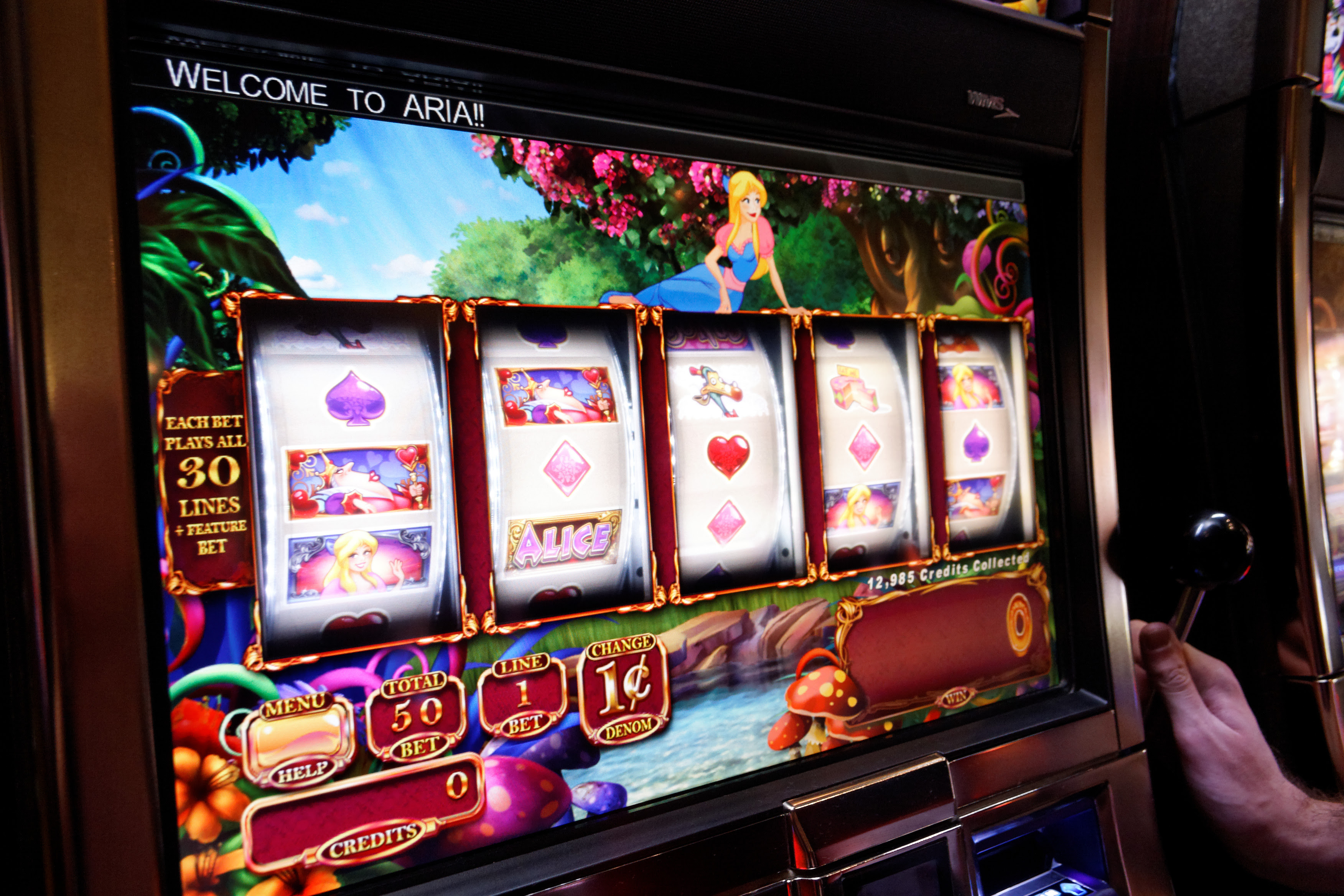 Casino slot machine videos