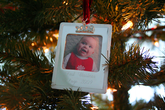 Paige's first ornament