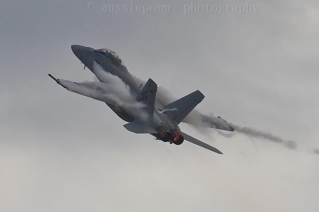RAAF F/A-18F Super Hornet CLIMB