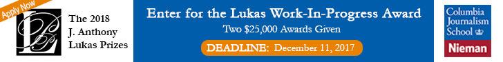 The J. Anthony Lukas Prize Project Awards