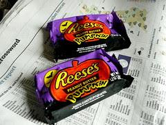 Reese's Halloween Peanut Butter Pumpkins