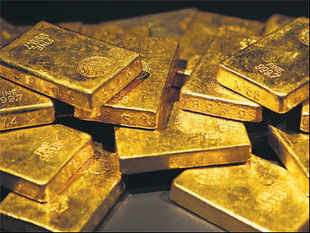 RBI is sitting on handsome returns on its gold reserves despite the recent crash in the yellow metal's price.
