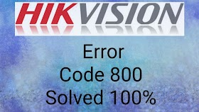 Hikvision Error Code 800 Solved 100% NET DVR DEV NET OVERFLOW 800 Network traffic is over device