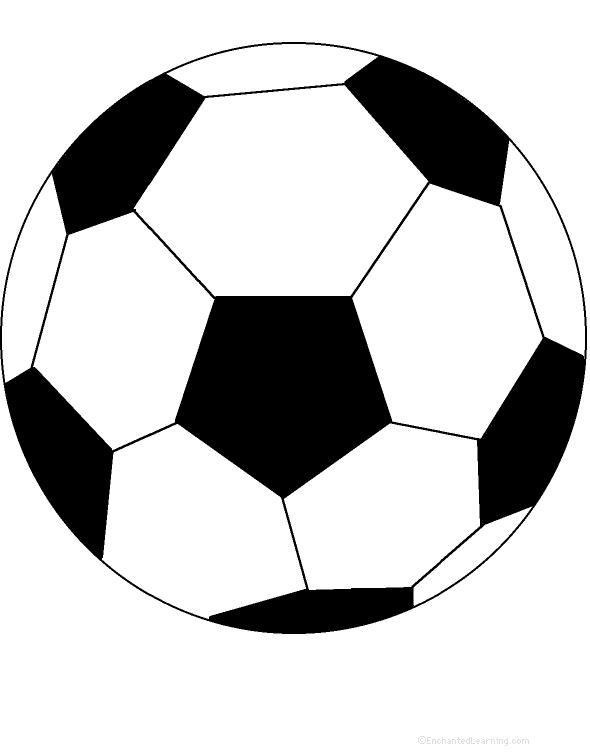 Soccer Ball: Perimeter Poem  Printable Worksheet. EnchantedLearning.com