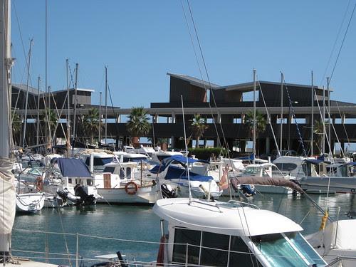 Badalona harbour