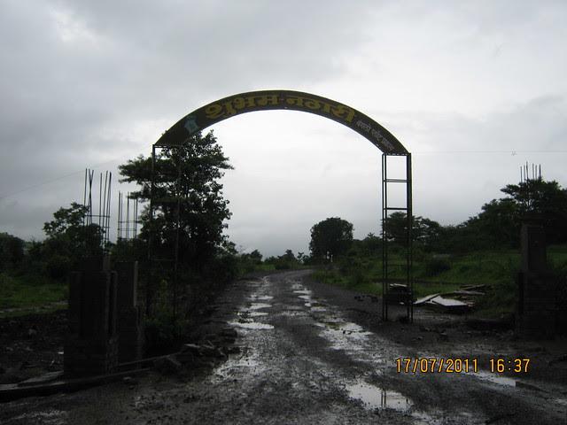 Way to Mont Vert Vesta & Shubham Nagari Bungalow Plots at Urawade Pirangut Pune 412 108
