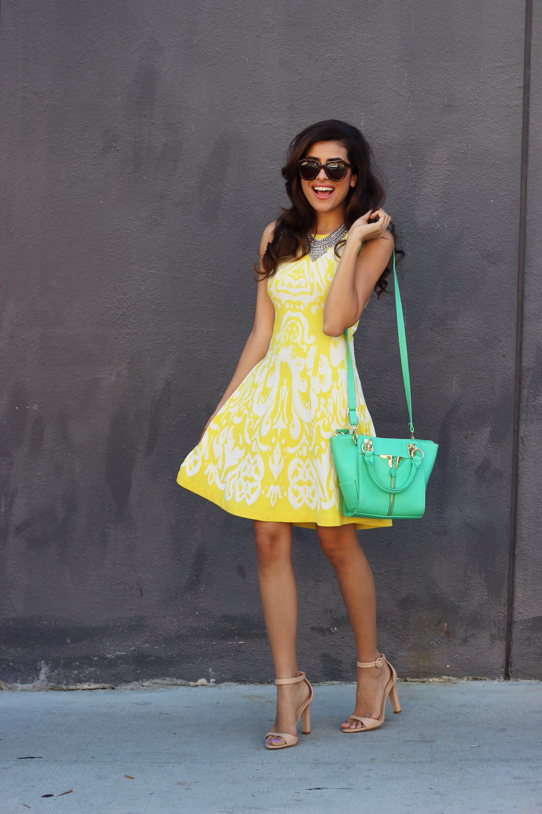 little yellow dress  sazan