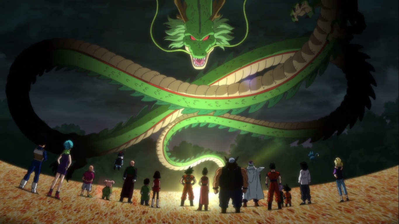 Dragon Ball Z Shenron 1366 X 768 Wallpapers