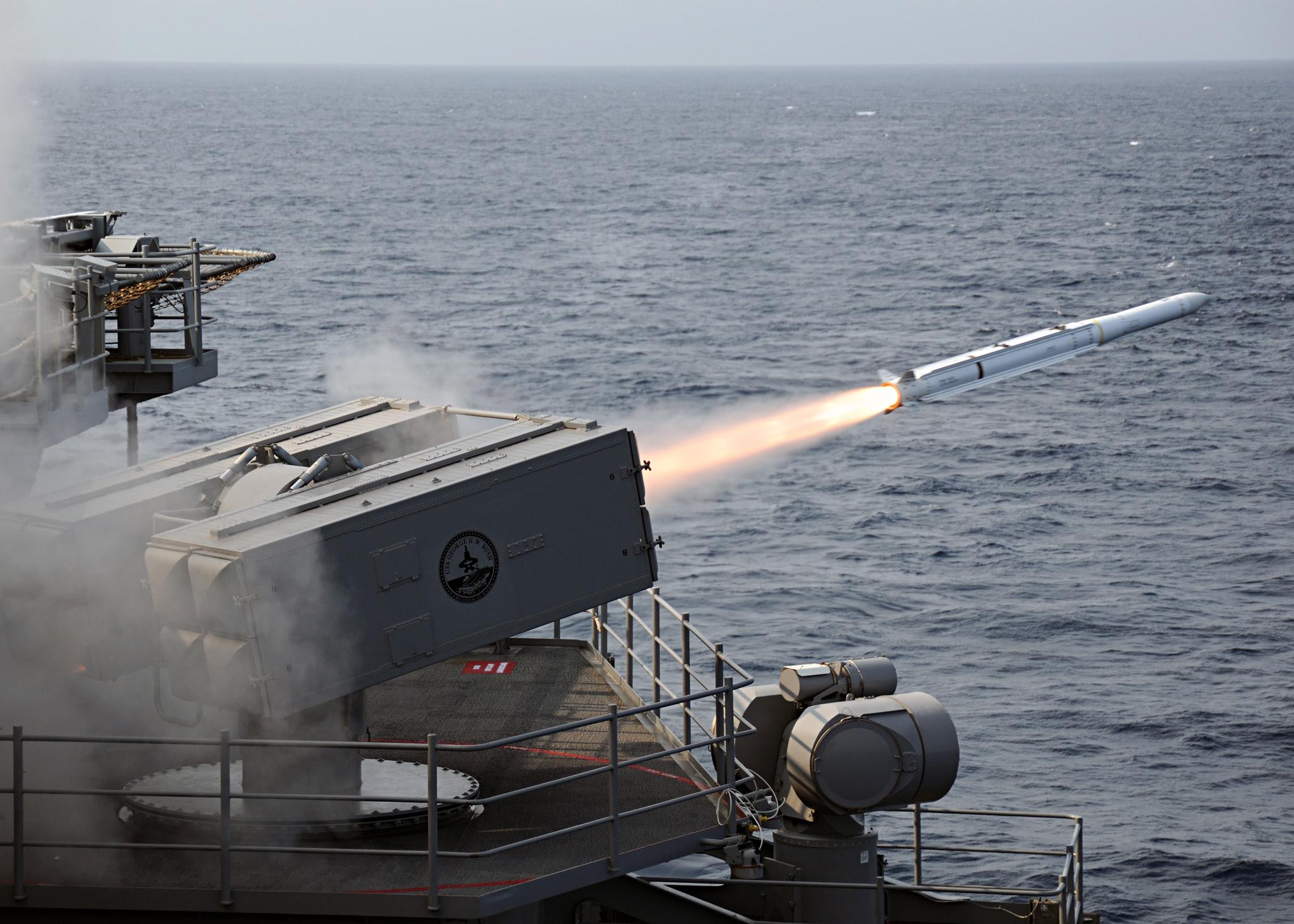 Resultado de imagen para RIM-162 Evolved Sea Sparrow Missile (ESSM)