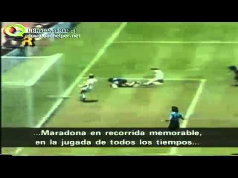 Gol de Maradona a los Ingleses (Musicalizado)