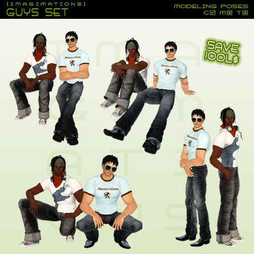 Imagimations - Guys Set (Modeling Poses)