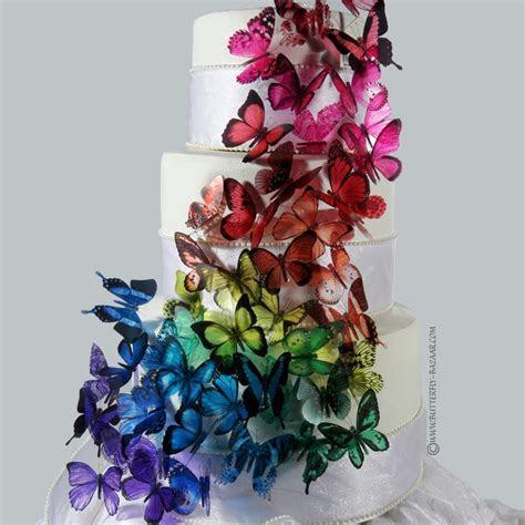 Purple Butterfly Wedding Cakes Decoration Ideas   Wedding Ido