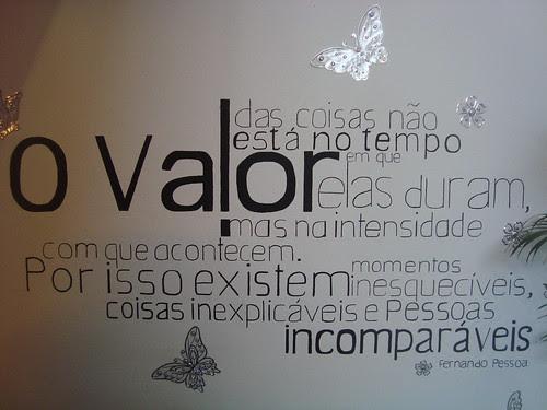 Desenho De Mural Frase De Fernando Pessoa Ideias Arte