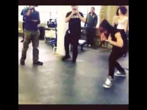 baps jongup  zelo   impromptu dance battle