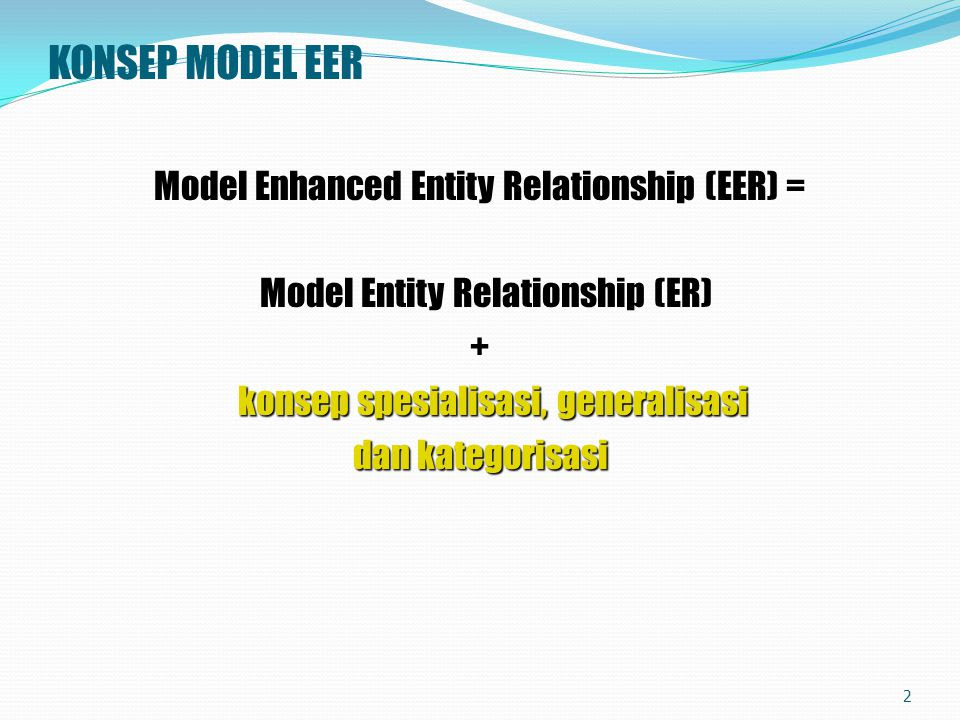 Contoh Diagram Er Generalisasi - Dawn Hullender
