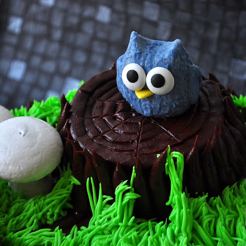 Chocolate Blackberry Owl
