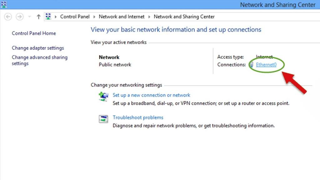 ethernet network setup
