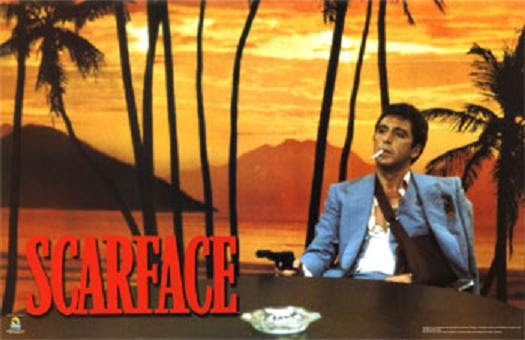 the world is yours scarface statue. scar face the world is yours.