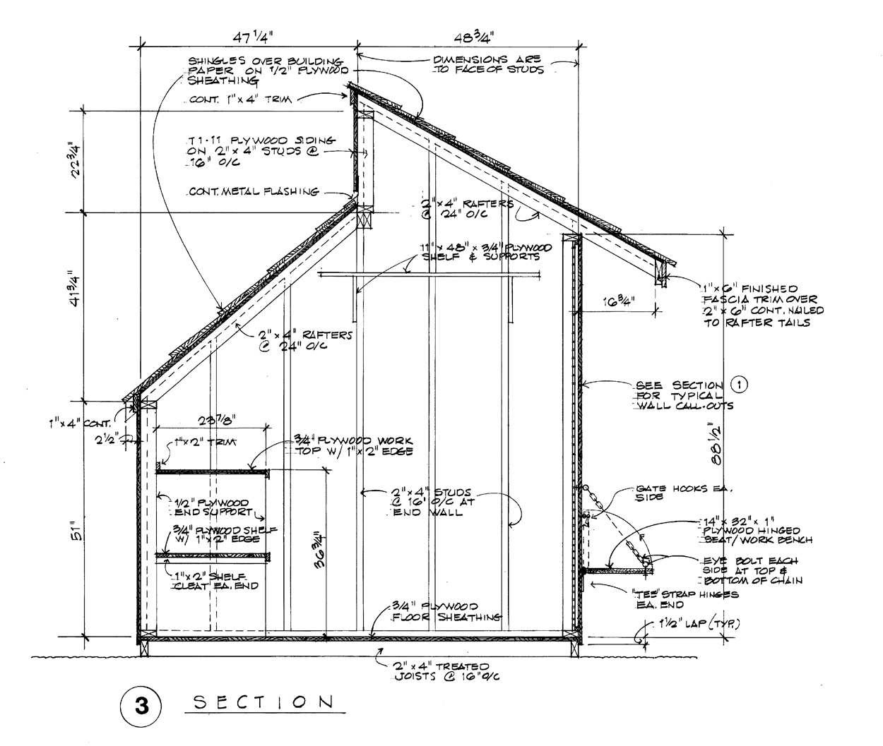 Free Garden Shed Building Plans