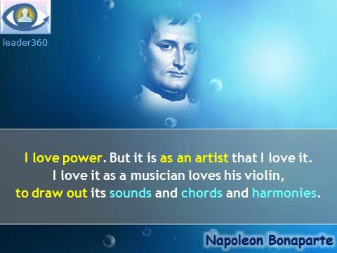 Napoleon Bonaparte Leadership Quotesi A Leader Is A Dealer In Hope