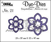 Duo Dies no. 21 Bloemen 12 / Flowers 12