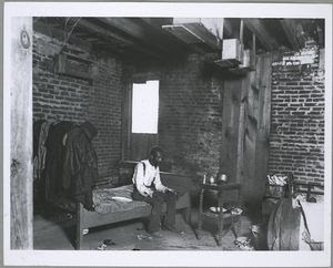 Negro dying of tuberculosis, Washington, D.C.