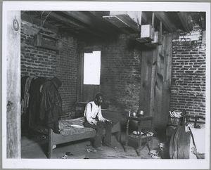 Negro dying of tuberculosis, Washington, D.C.