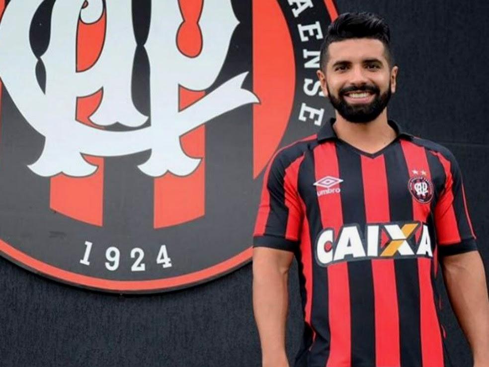 Guilherme fará a estreia pelo Atlético-PR no domingo (Foto: Site oficial do Atlético-PR/Divulgação)