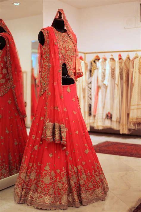 Best 25  Red lehenga ideas on Pinterest   Indian lehenga
