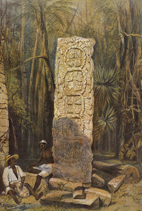 Lámina 3: Back of Idol, Copan