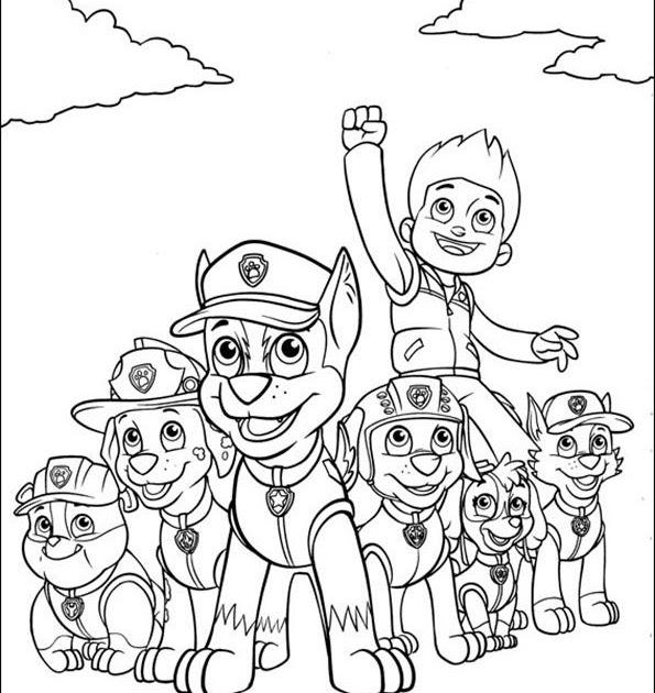 paw patrol ultimate rescue ausmalbilder paw patrol