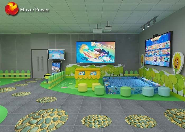 Kapalı Bahçesi çocuklar Için 3d Interaktif Projeksiyon Boyama Balık