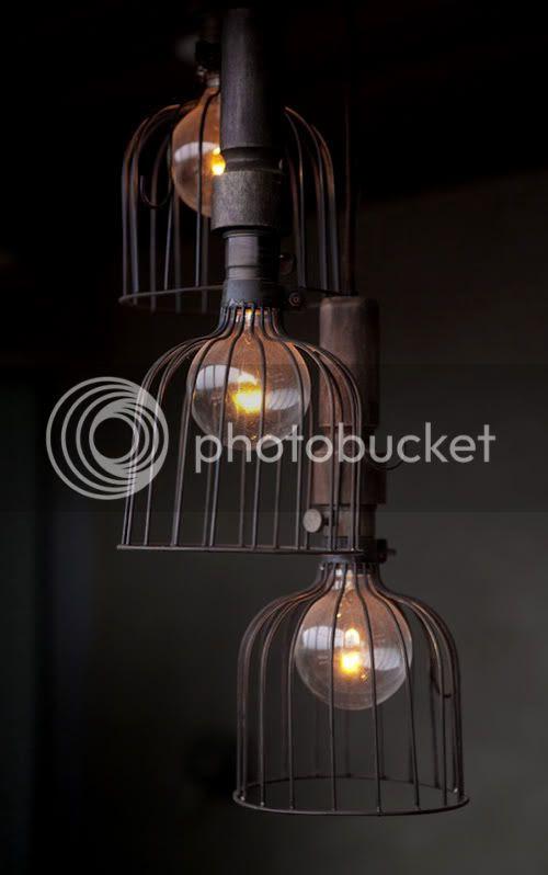design traveller vintage wire cage lamps. Black Bedroom Furniture Sets. Home Design Ideas