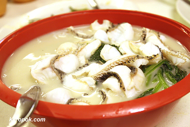 Their famous Fishhead Noodles