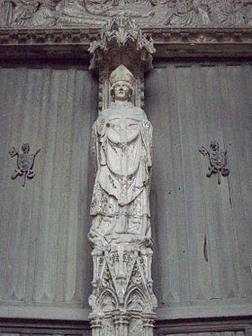 Saint Ouen de Rouen († 684)