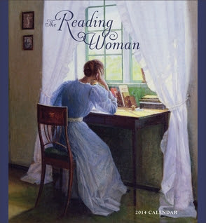 The Reading Woman 2014 Wall Calendar